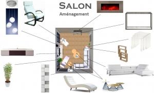 plan d'aménagement intérieur salon l'isle jourdain gers style zen contemporain
